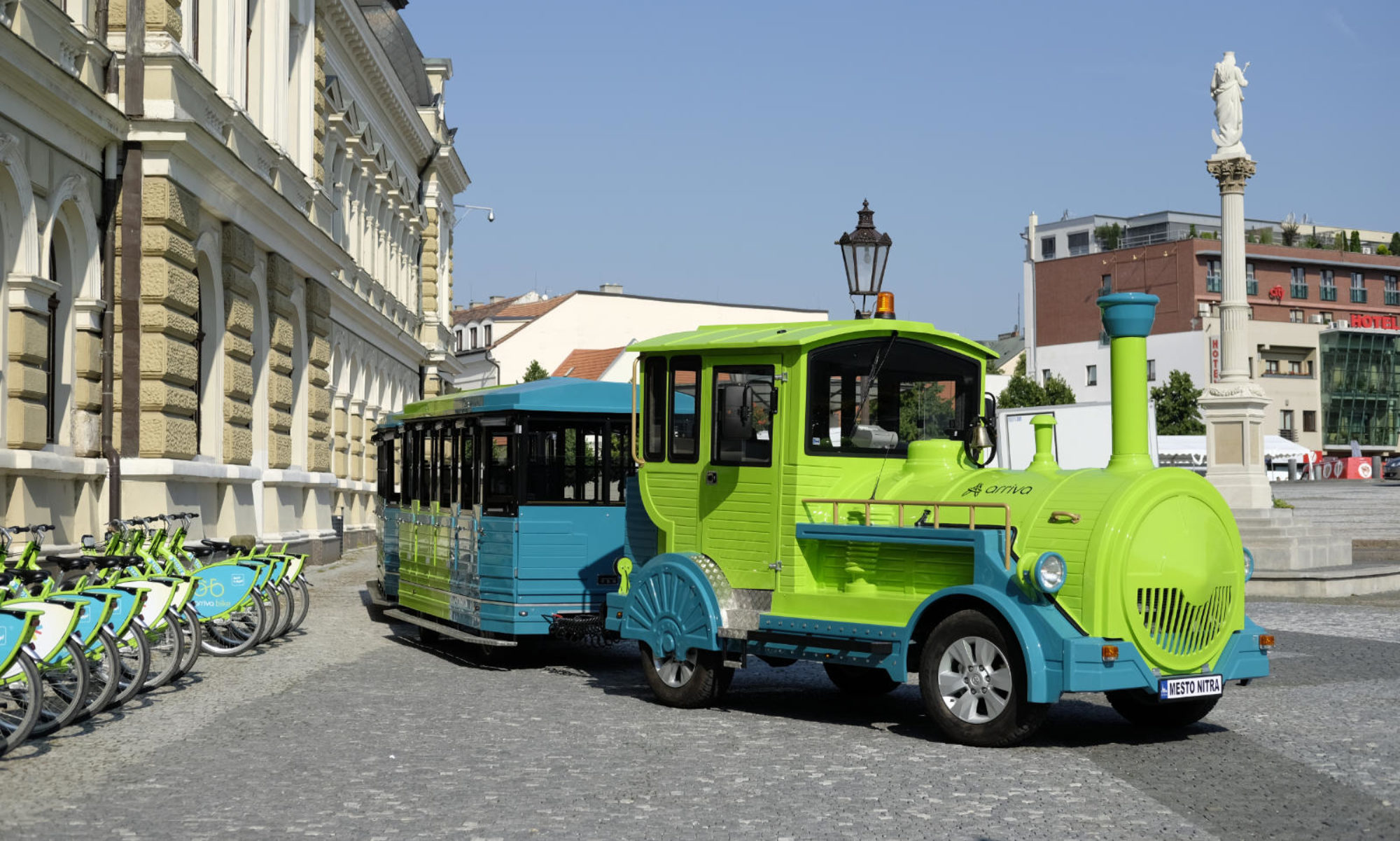 Tourist train Nitra